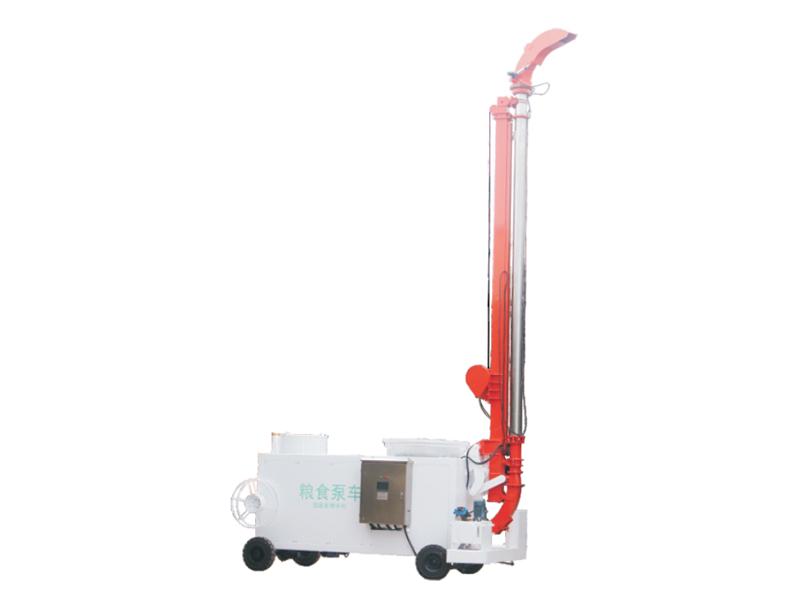 筒倉型糧食泵車