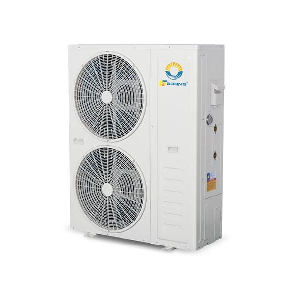 戶式整體低溫直流變頻采暖制冷機組