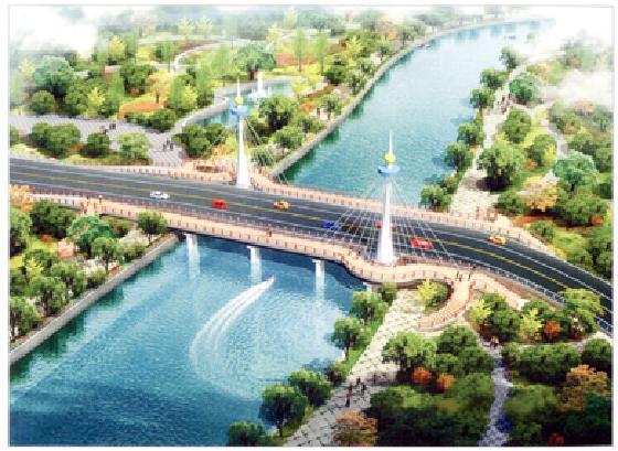 黃巖區橫街路西江河橋工程