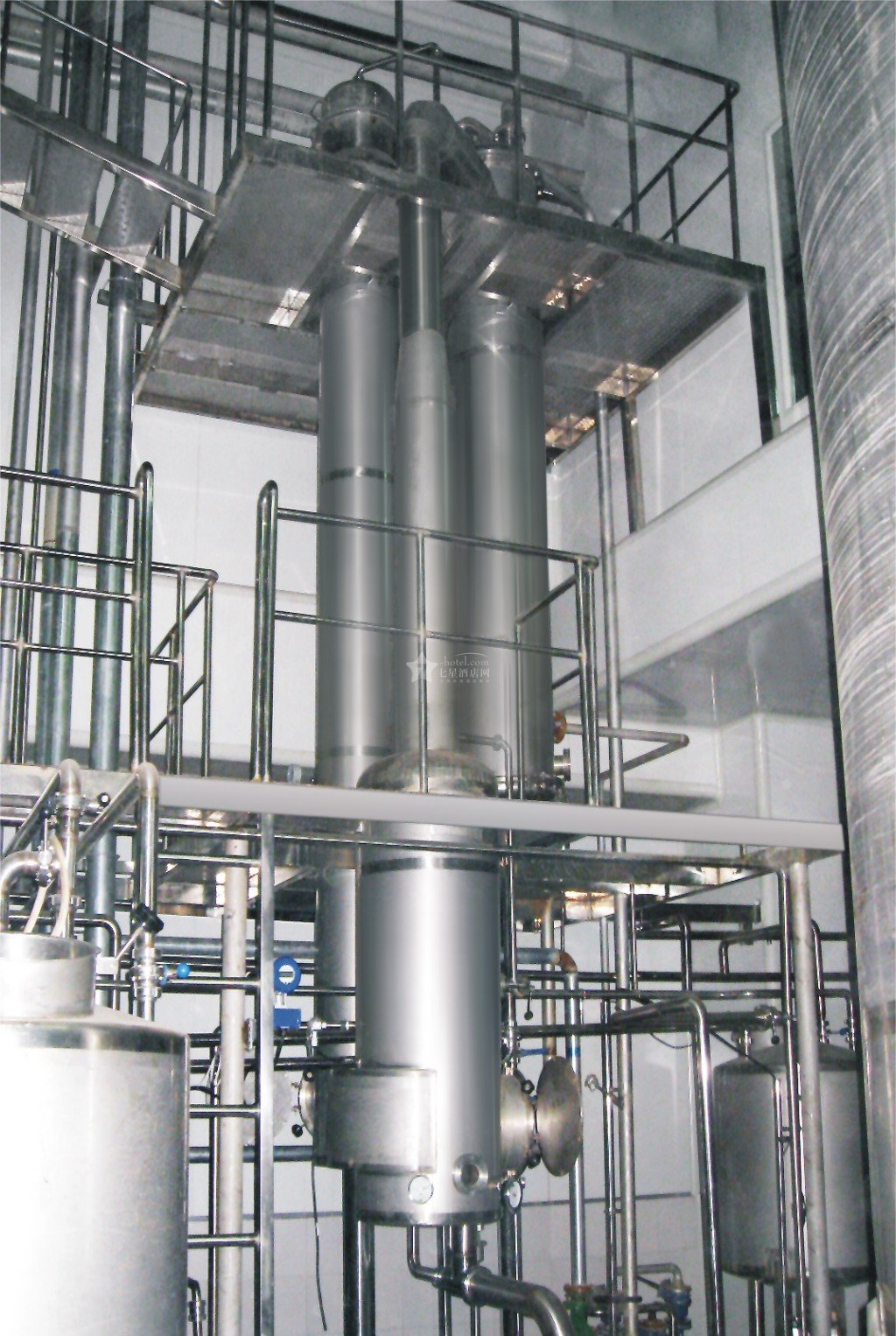 煉乳連續生產多效蒸發器