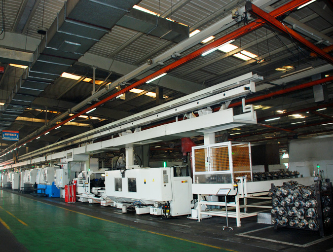 Crankshaft automatic production line