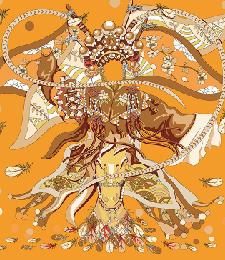 2-1中方巾-同花《木蘭頌》