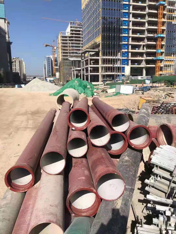 福建融通管業有限公司銷售代理的污水球墨鑄鐵管應用于福州三江口項目建污水管網設之中