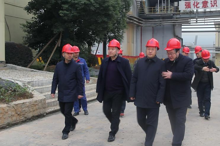 黃石市市長吳錦希望大冶尖峰 做區域經濟轉型升級的引擎主力