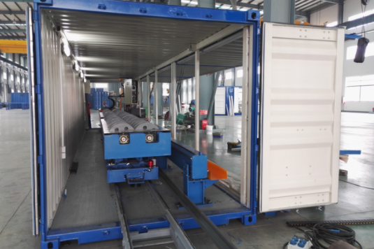 Intersection multi-axle cutting and profiling machine