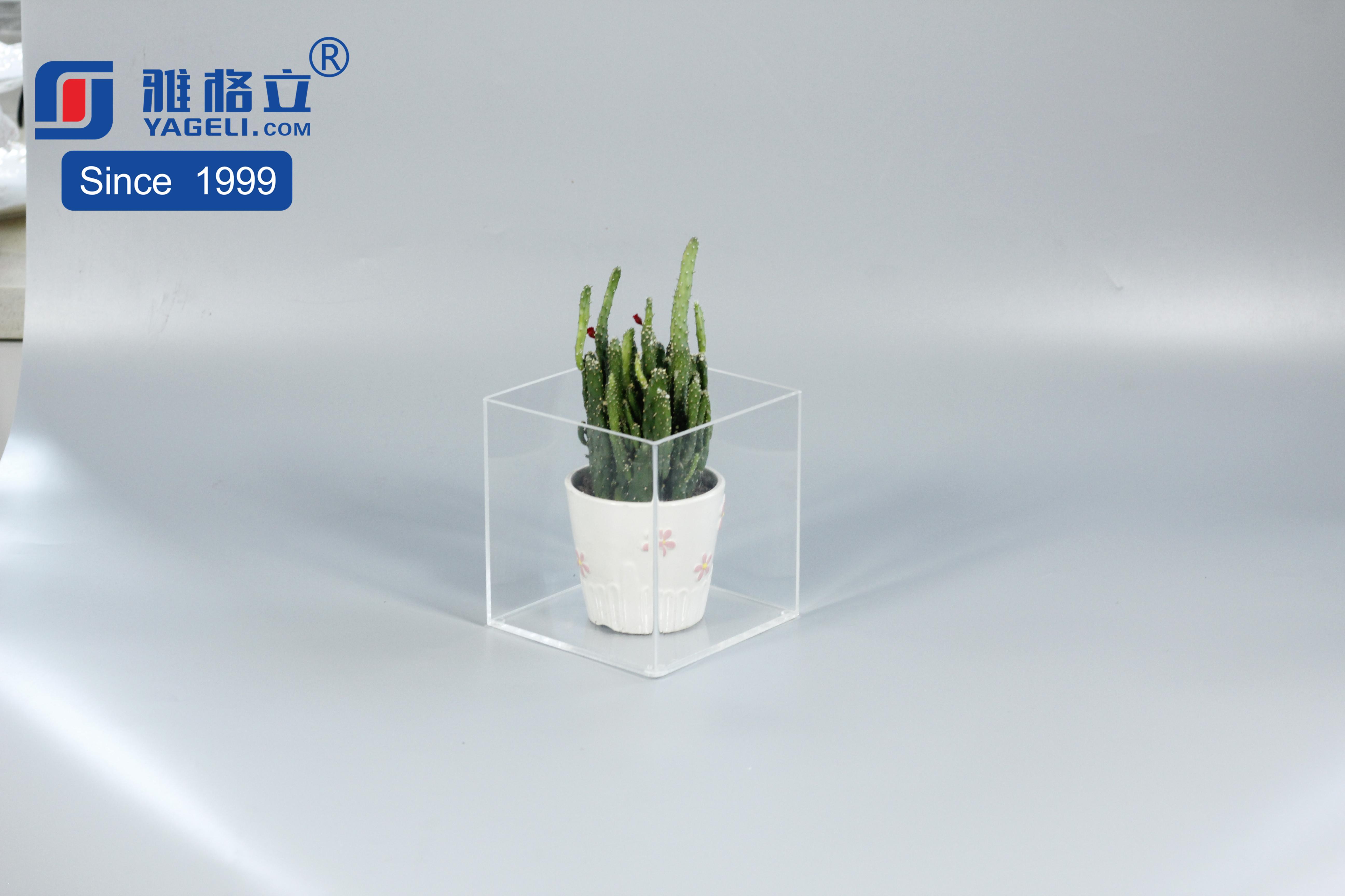 亞克力綠植收納盒展示盒多功能