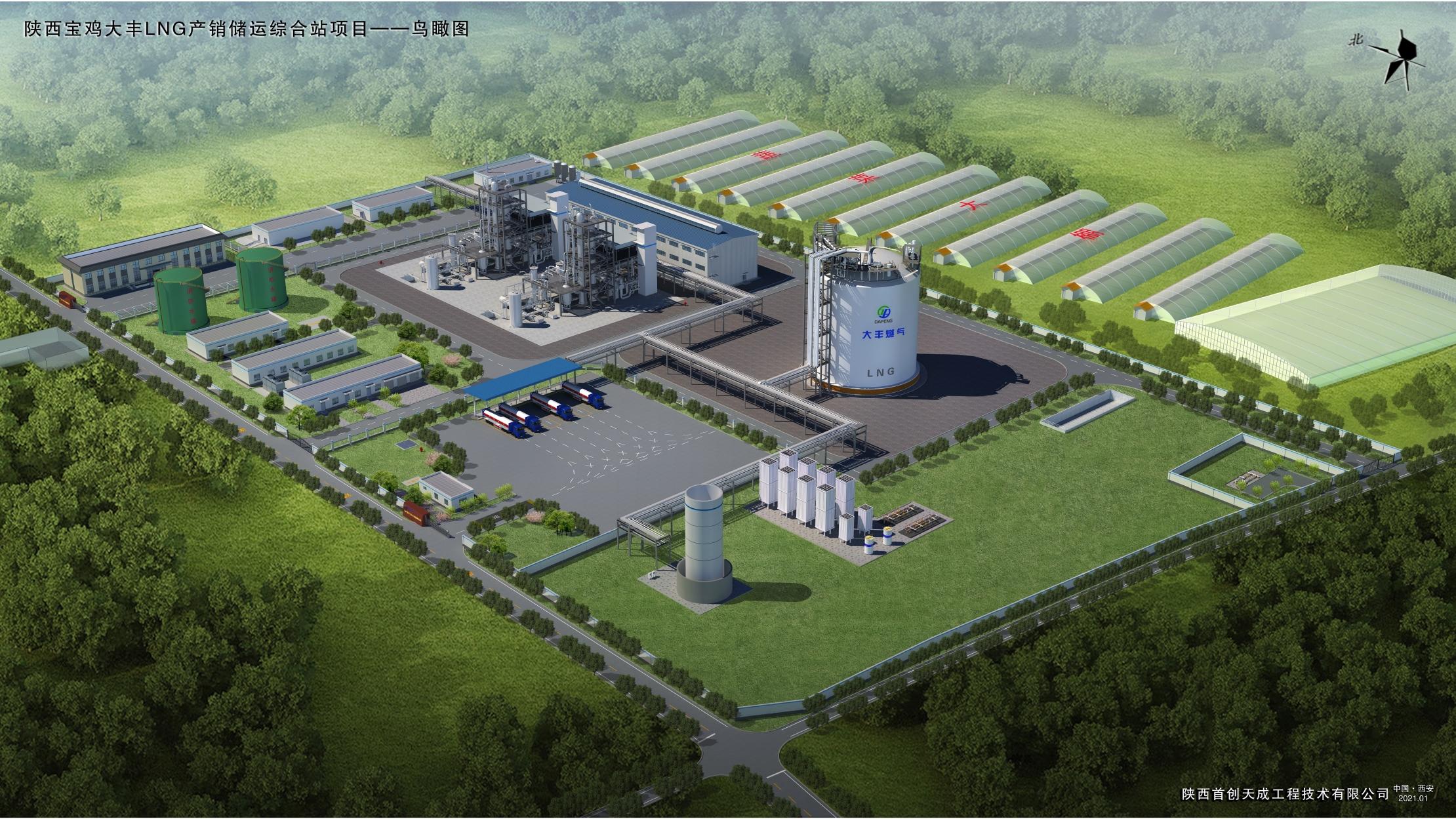 擔綱LNG產銷儲運綜合站項目