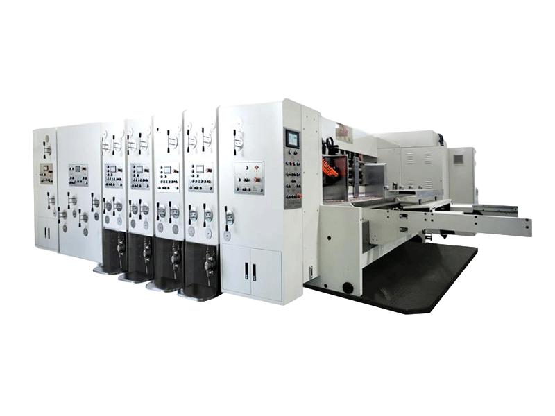 K4-型電腦式自動水性印刷開槽模切清廢機
