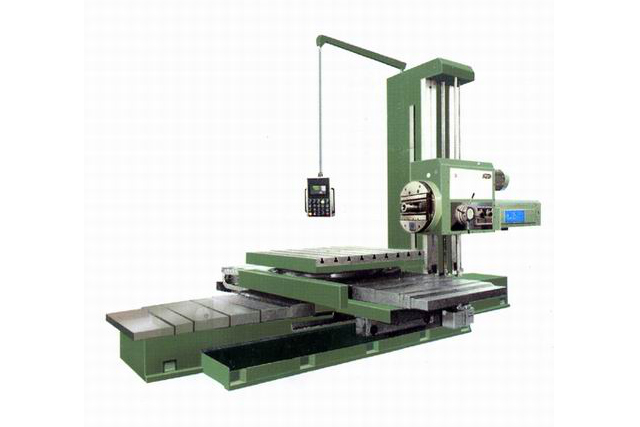 T618 horizontal digital display boring machine