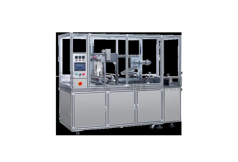 JW-280-A 透明膜折疊式包膜機(帶防偽易拉線)