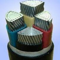 9、钢带铠装铝芯聚氯乙烯绝缘低烟无卤阻燃护套电力电缆