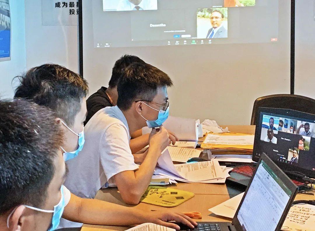 森海集團組織召開海外派遣人員疫情防控會議,部署防疫工作