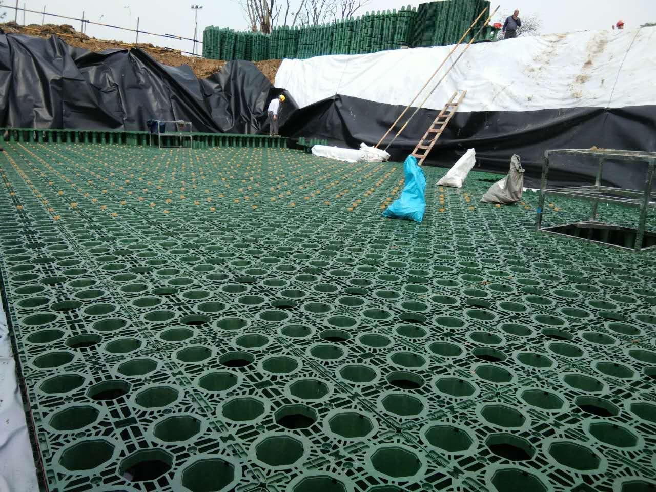 成都_公园海绵城市建设雨水收集利用项目