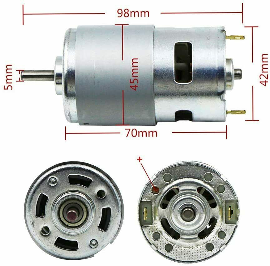 12 kinds of high torque and high power 775 motors3