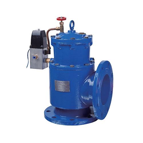 HA007型氣、液動角式排污閥