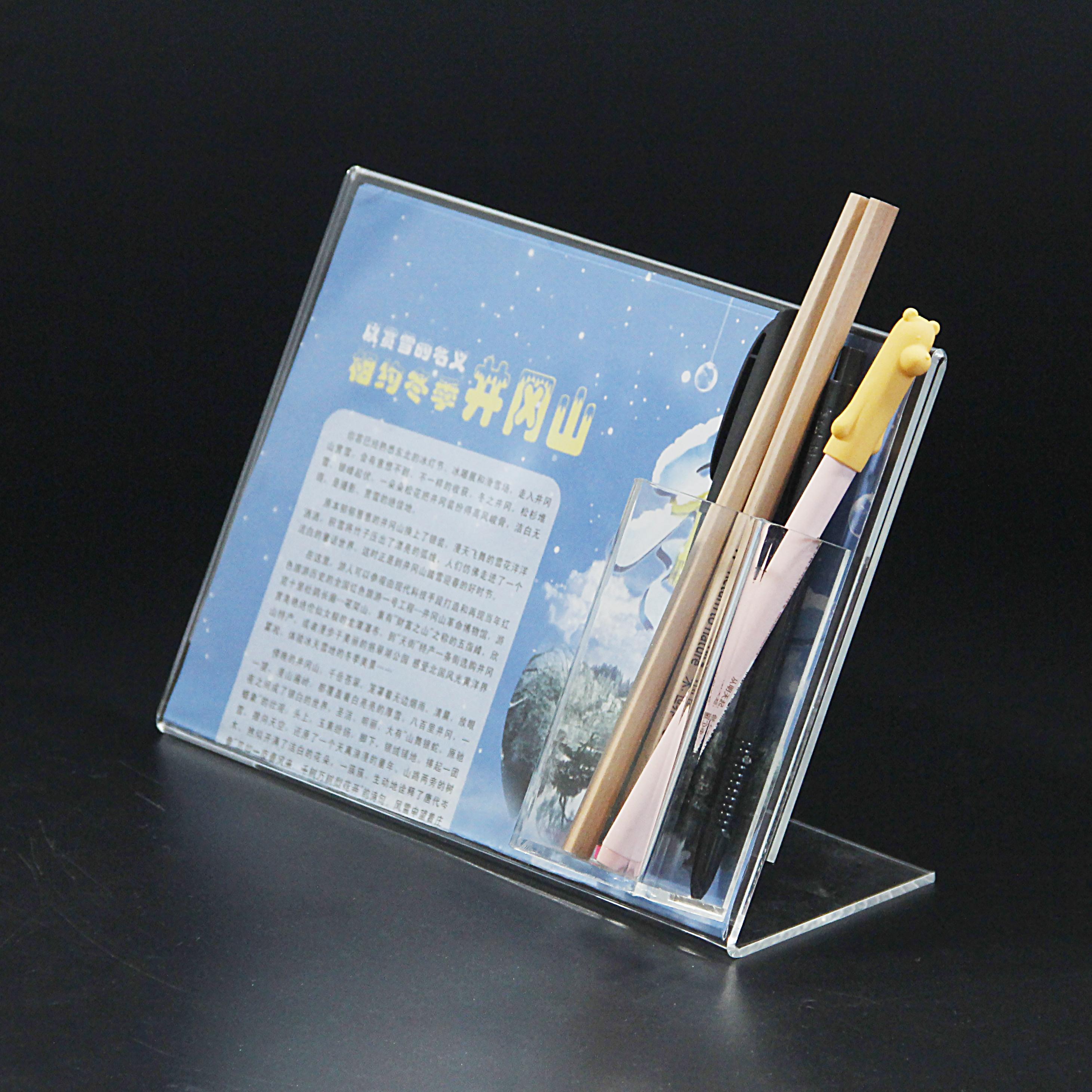 亞克力有機玻璃展示臺卡多功能尺寸可定制工廠