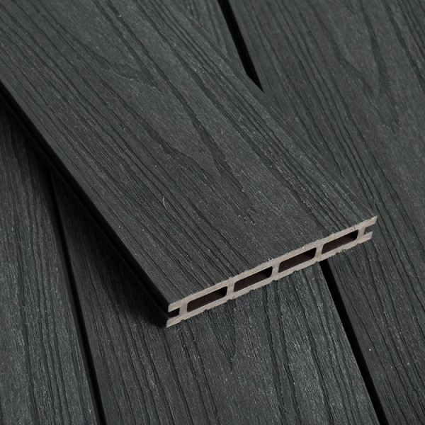 WPC Co-extrusion Decking W140*T21mm Charcoal