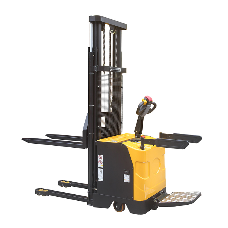 Fully automatic stacker (double mast)