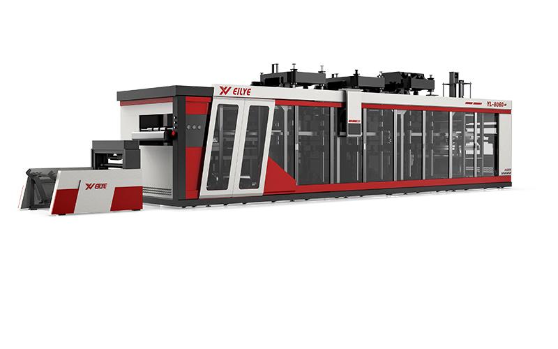 YL8060-四工位熱成型機