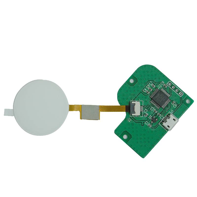 FT3267 G+F 1.44 inch Round Resistive Touch Panel with Gesture Recognition and Control Board