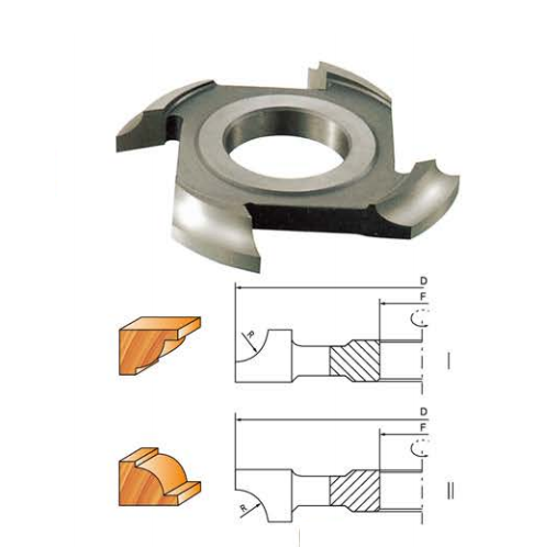 LCHL-04 CUTTER FOR QUARTER ROUND(HL)