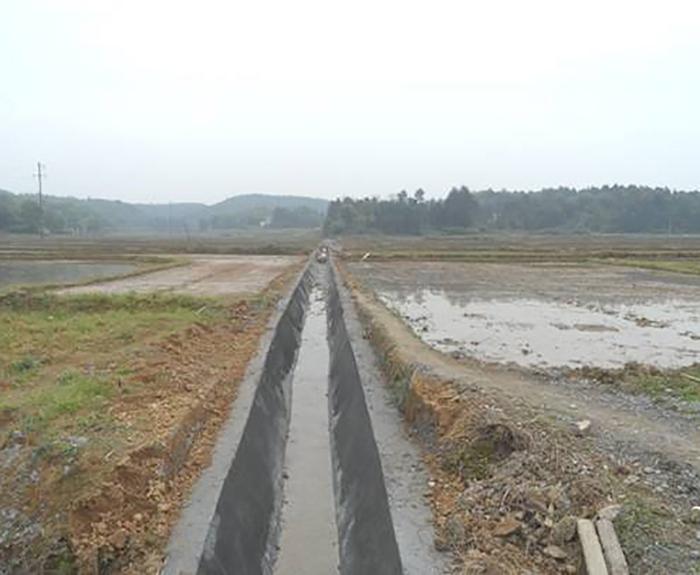竹山縣小型農田水利一般重點縣2015年度項目施工3標段