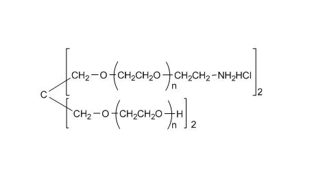 4arm PEG, 2arm-Hydroxyl, 2arm-Amine (pentaerythritol), HCl Salt