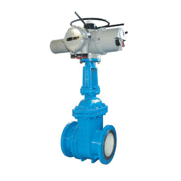 Electric ceramic slag valve