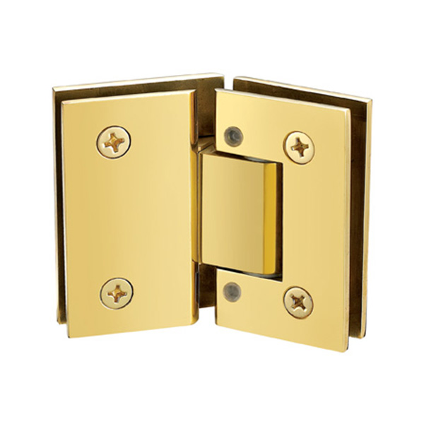 ADJUSTABLE HEAVY DUTY 135 DEGREE GLASS TO GLASS HINGES