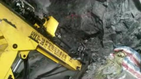 坑道鑽施工視頻