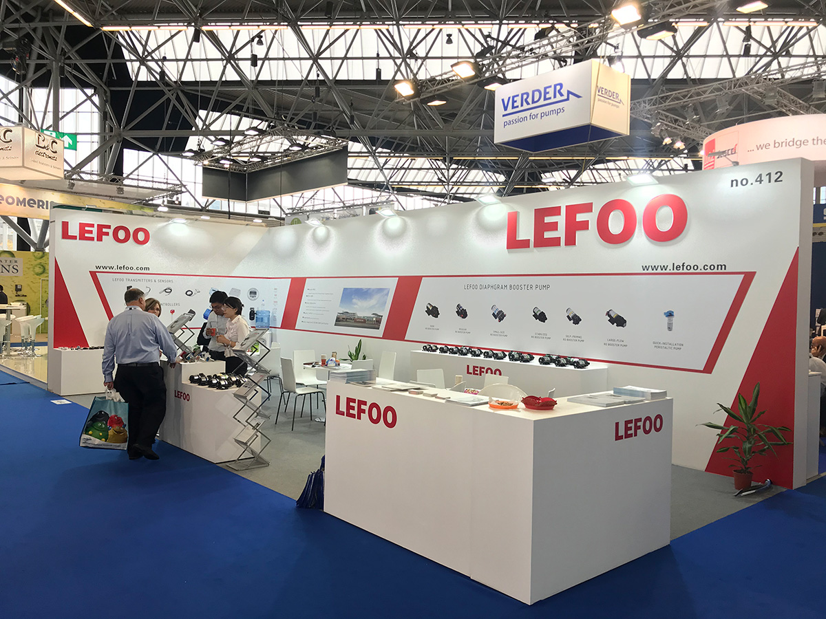 LEFOO Attend the 2019 Aquatec Amsterdam Exhibition