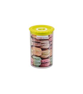饼干圆形密封罐 1L
