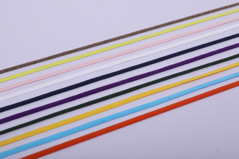 扁形彩色KN95口罩耳绳