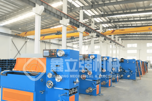 Operation specification of wire drawing machine