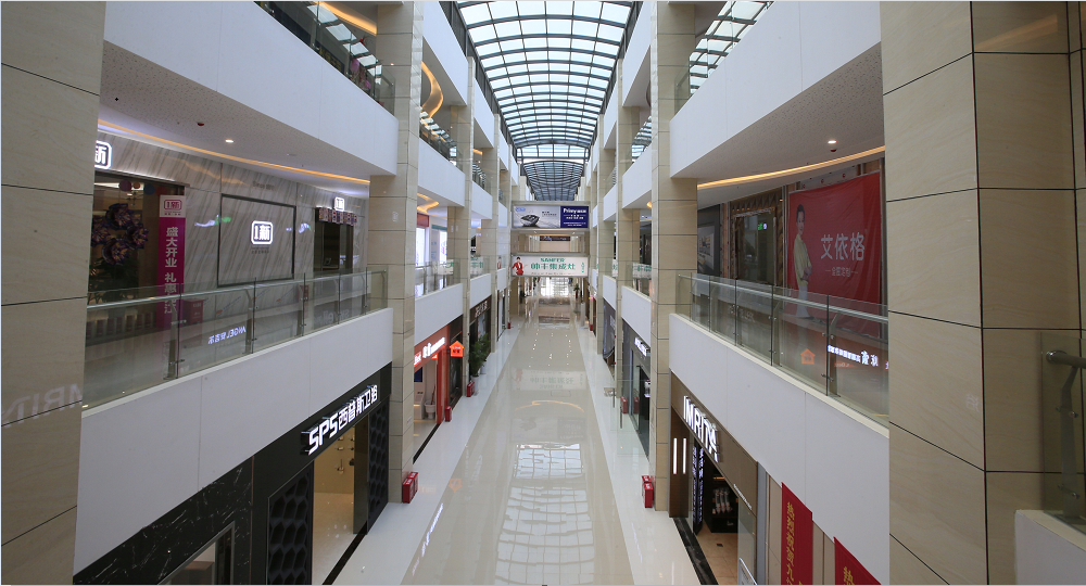 九江禧徕乐国际商业中心家具城A、B馆室内装修工程