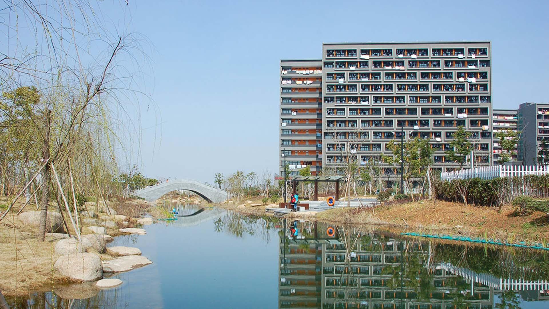 2013--杭师大仓前校区一期河道工程一标段