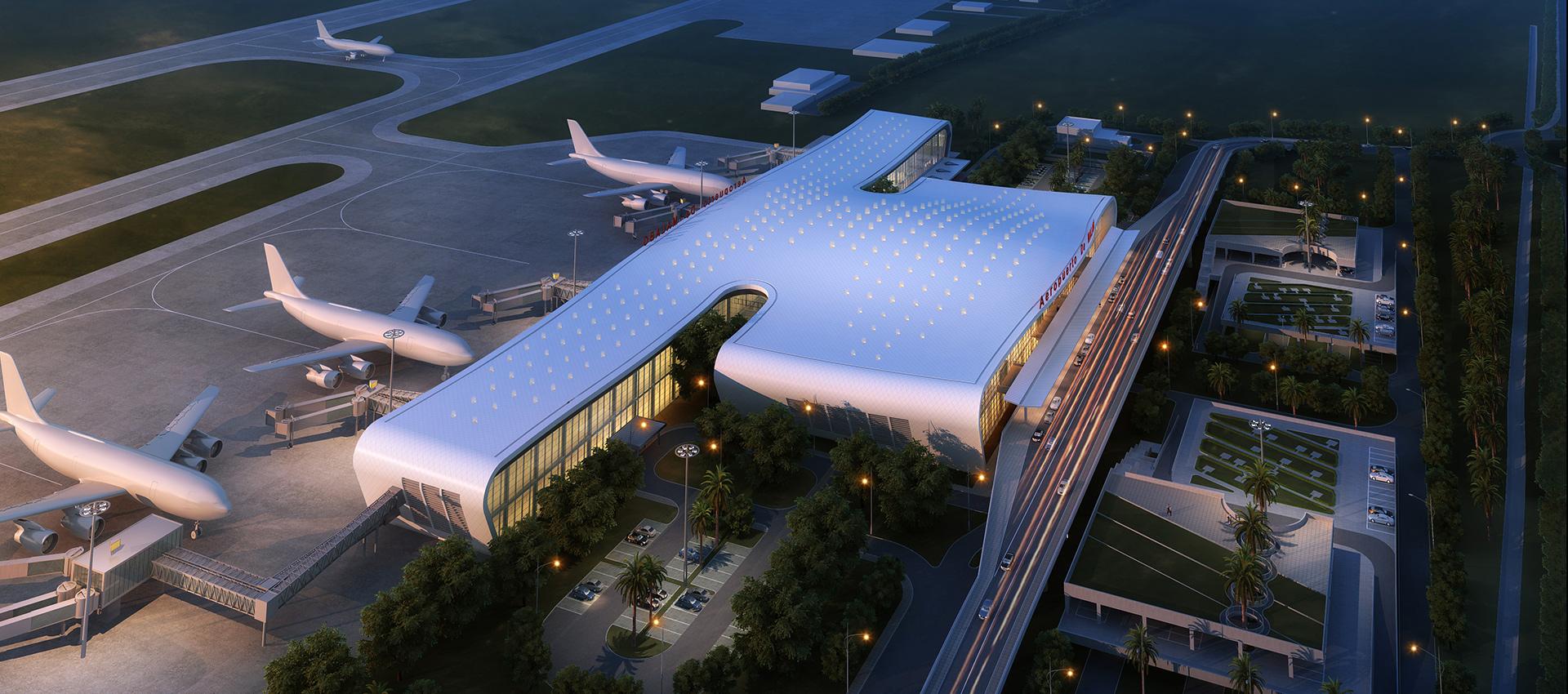 赤道几内亚马拉博机场