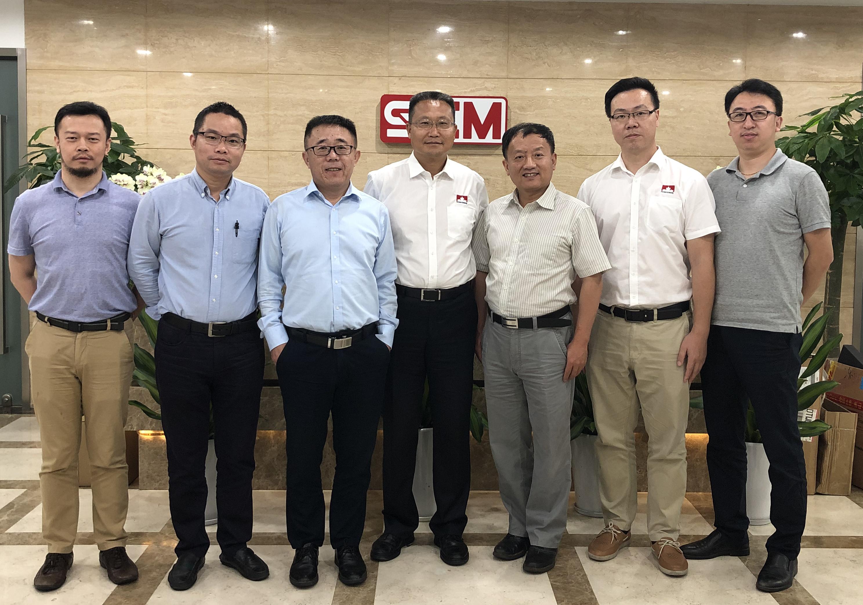 加石油工業油銷售團隊到訪SCM