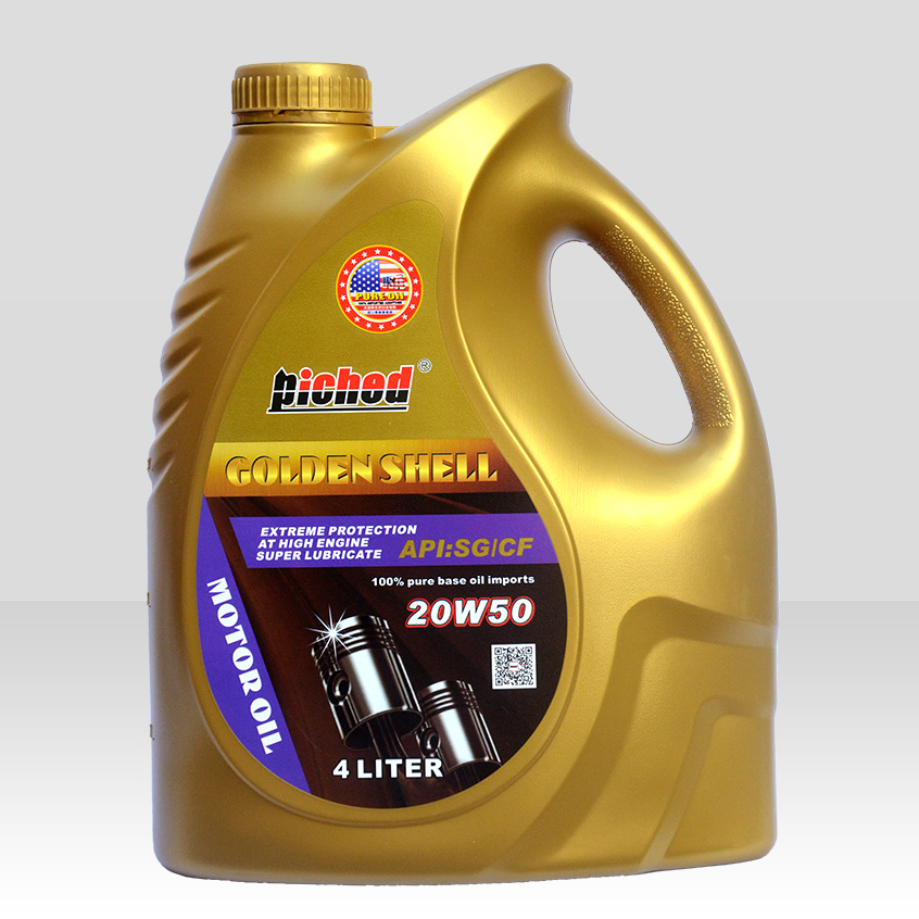 Lubricant lucringcating oil-Motor oil-金壳SG-CF-20W50_4L-F