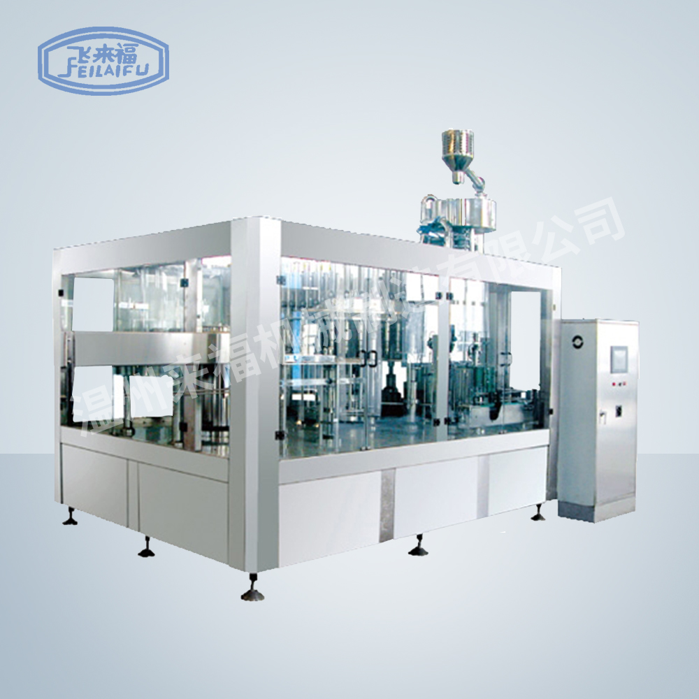 JR40-40-10 18000B/H沖瓶灌裝旋蓋三合一機組
