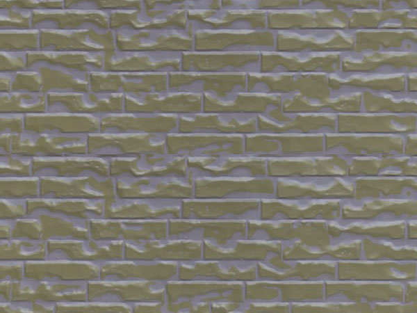 Light brown yellow overcoated beige yellow small brick pattern (Z1-QZH07)