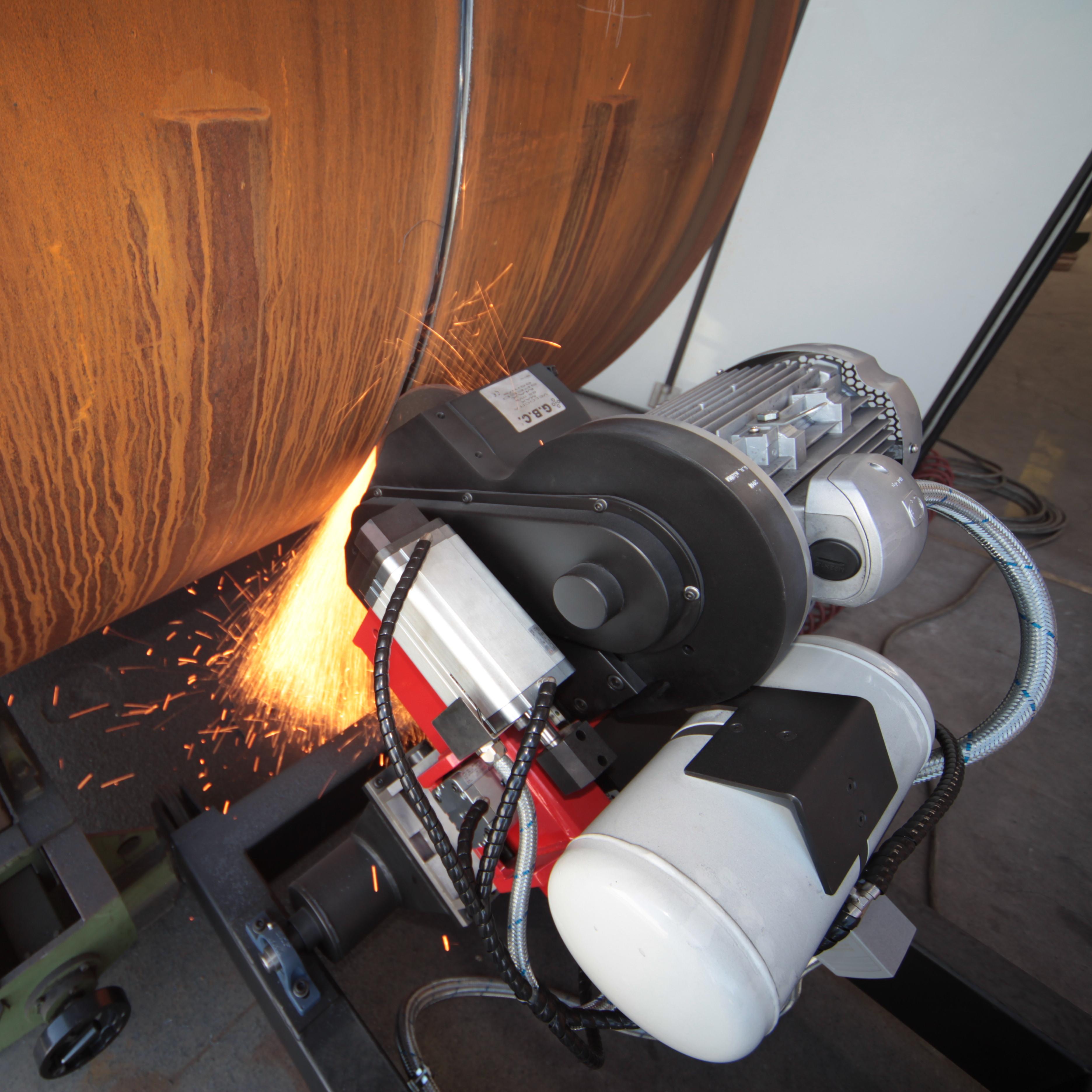 G400碳钢、不锈钢、合金钢焊缝清根机