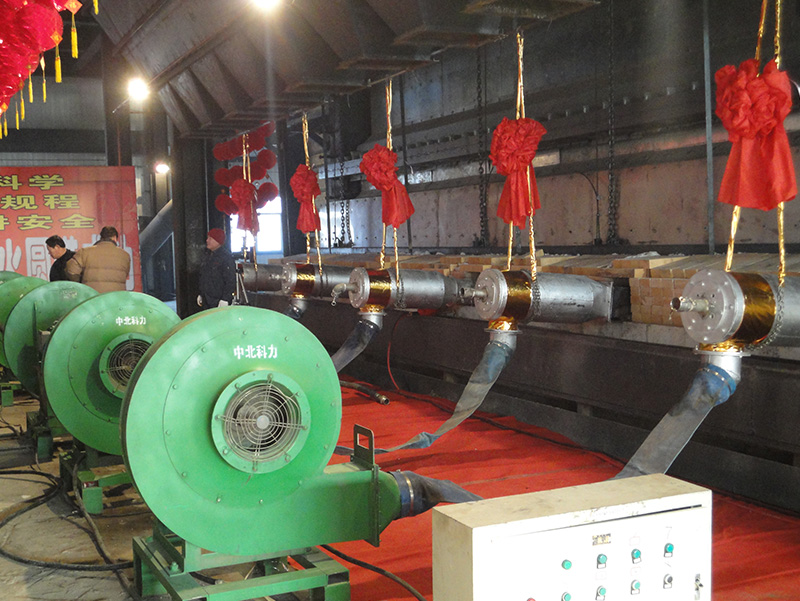 Float glass melting kiln
