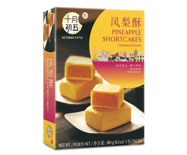180gX24boxes   Pineapple Short Cakes