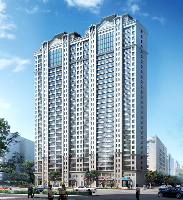 High-quality structural engineering in Heilongjiang Province - Heihe Hengji Apartment