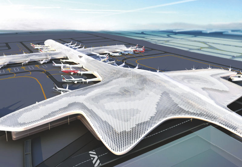 深圳机场T3机坪供油管道工程