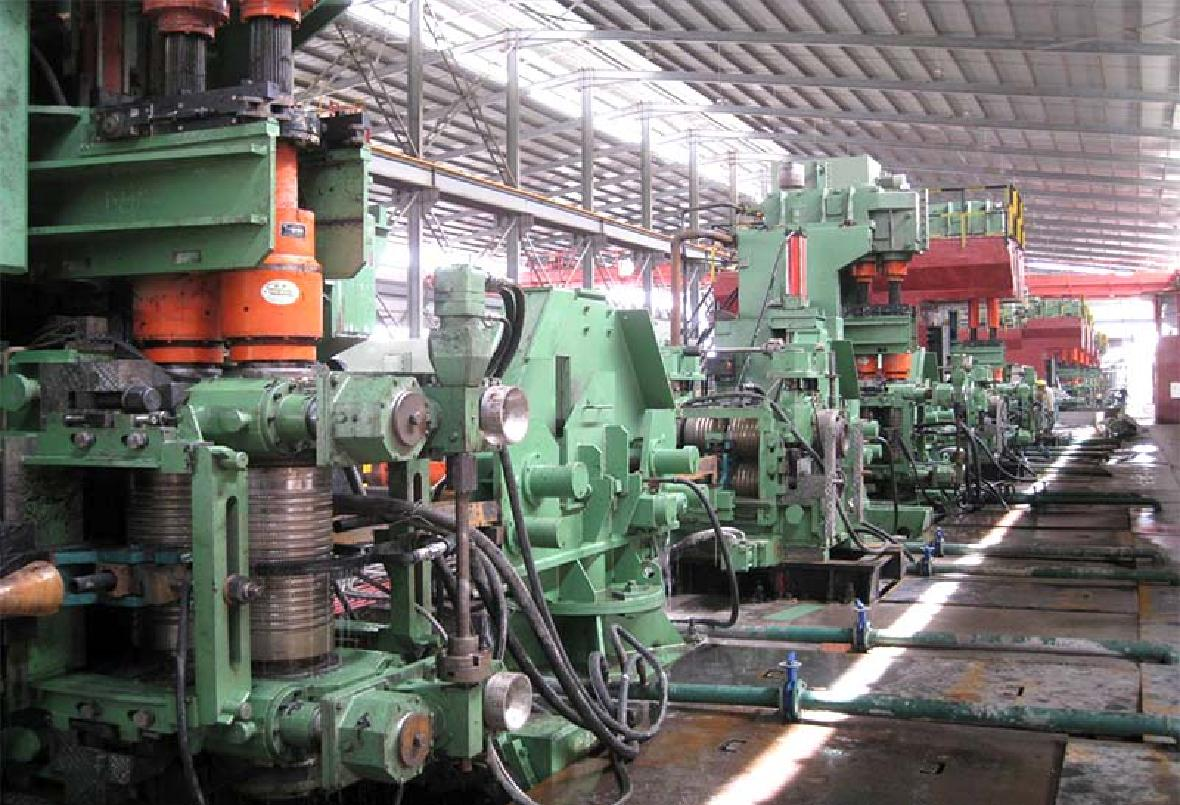 8-32 平立交替軋螺紋鋼生產線設備