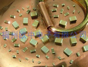 无磁性铜覆层电容器