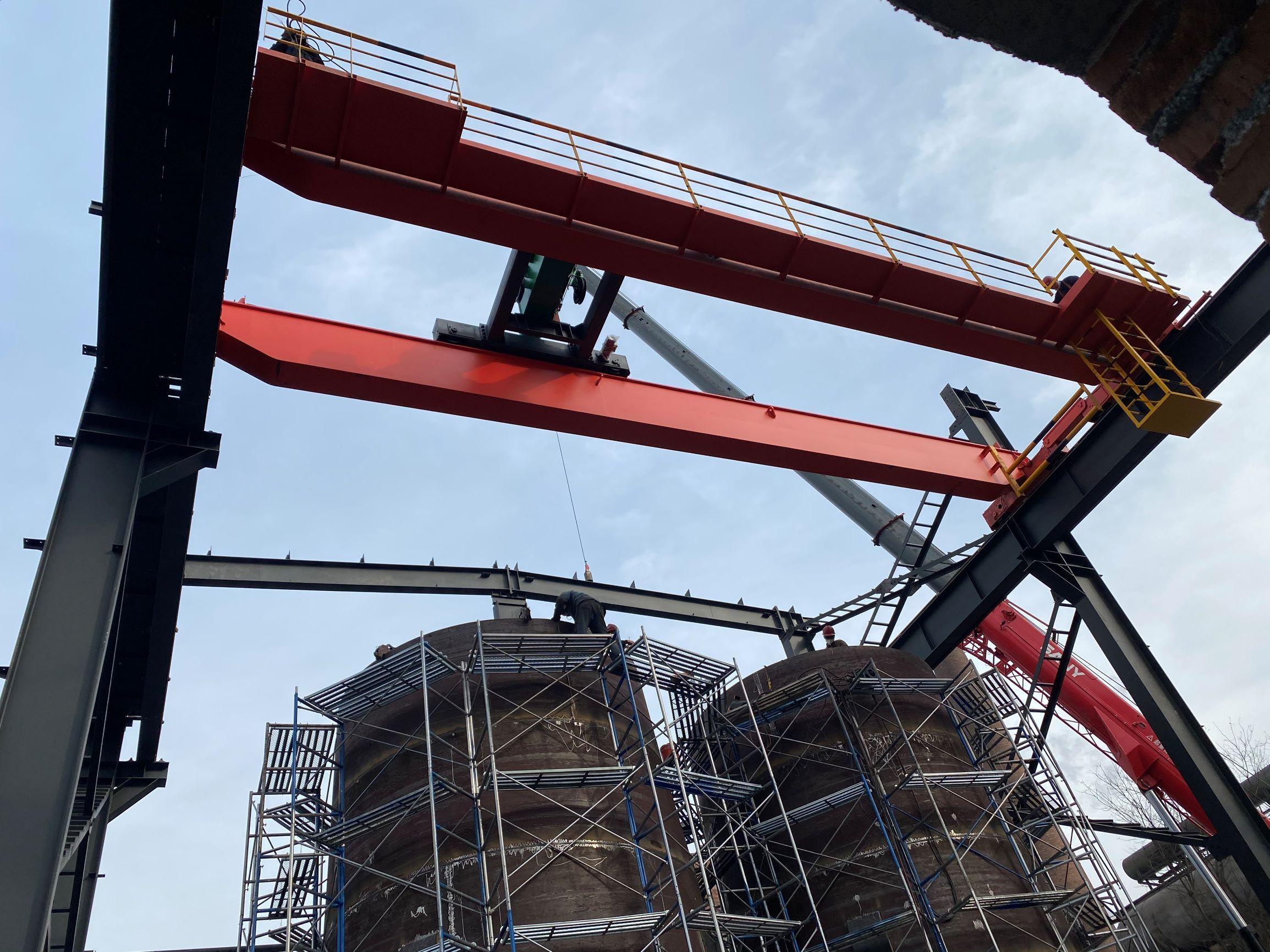 中船气体供安钢集团制氧项目最新进展