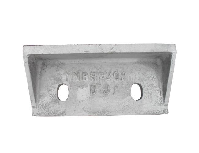 NBR3392 Striker Plate at Drop Position